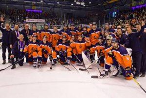 Holanda retorna à Divisão I depois de uma breve passagem pela Divisão IIA.  Foto: Thijs de Witte